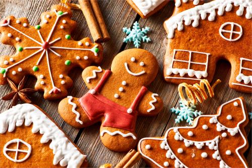 Імбирне печиво до Різдва