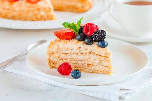 Найлегший рецепт торта «Наполеон»