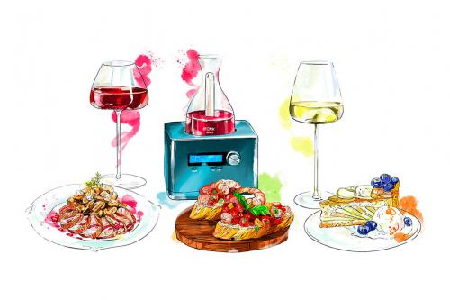 Домашня вечеря з вином