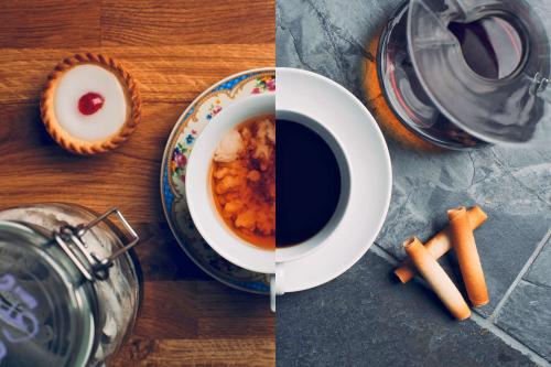 Чи правда, що кофеїну в чашці чаю стільки ж, скільки в чашці кави