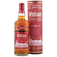 Віскі BenRiach Sherry 12років 46% 0,7л тубус х2