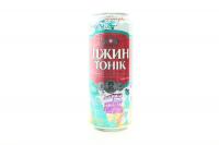 Напій Оболонь Джин Тонік 8,5% з/б 0,5л х6
