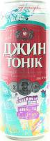 Напій Оболонь Джин Тонік с/б 0.5л х6