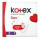 Щоденні гігієнічні прокладки Kotex Deo Super, 52 шт.