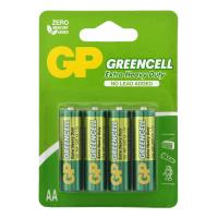 Батарейка GP GREENCELL 1.5V сольова, 15G-2UE4, R6, АА блістер