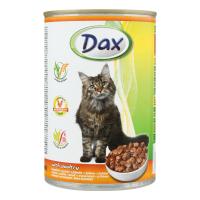 Консерва для котів DAX з птицею ж/б 415г