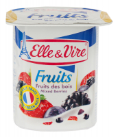 Десерт Elle&Vire Fruits лісові ягоди 125г х12