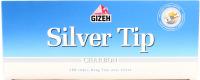 Гільзи Gizeh Silver Tip Charbon для тютюну 100шт