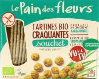 Хлібці le Pain des fleurs б/глют.з гречки б/сол-цукр 150г
