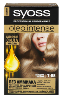 Крем-фарба Syoss Oleo Intense 7-58 димчастий блонд