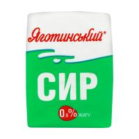 Сир Яготинський кисломолочний 0,6% 200г