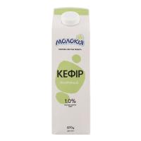 Кефір Молокія питний 1% 870г п/е х12