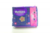 Підгузки-трусики Huggies Jeans для дівчаток 9-14кг 17шт  х6