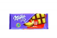 "Шоколад Milka молочний з печивом ЛУ"" 87г х12"""