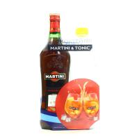Вермут Martini Rosso 0.5л + Schweppes tonic 0.5л х3