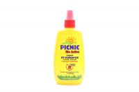 Спрей від комарів, кліщів, ґедзів, Picnic Bio Active, 120 мл