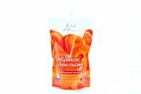 Мило рідке Vital Charm Абрикос апельсин 500мл пакет х6