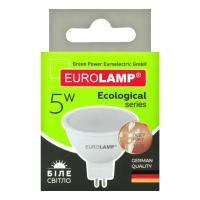 Лампа EuroLamp світлодіодна GU5.3 5W 3000K LED-SMD(P)