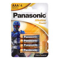 Батарейка Раnаsоnіс Alcaline Power AAABli 4 Girgue du Sol х6