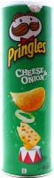 Чіпси Pringles Сир-цибуля 165г х18