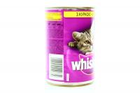 Корм Whiskas з куркою в соусі для киці 400г х24