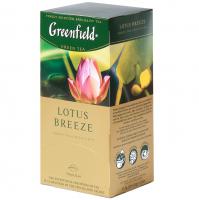 Чай Greenfield Lotus Breeze зелений 25*1,5г