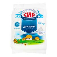 Сир Білоцерківський Домашній кисломолочний 0% 350г х10