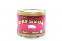 М`ясо Ladus тушковане Свинина ладус-йодис 525г з/б