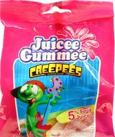 Цукерки Juicee Gummee з фруктовим соком Повзучки 80г х20