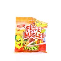 Цукерки жувальні Figle Migle Тропік 80г х12