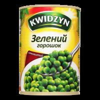 Горошок Kwidzyn зелений 400г