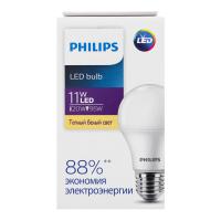 Лампа Philips світлодіодна LED 11W 30000К Е27 х6