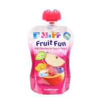 Пюре Hipp яблуко-персик-чорниця-малина 90г х15