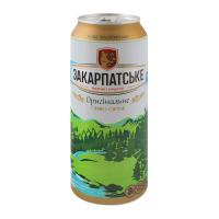 Пиво Перша приватна боварння Закарпатське св/фільт. з/б 0,5л х12