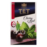 Чай ТЕТ Cherry&Mint чорний 20*2г 40г
