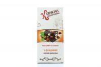 Шоколад Стевіясан чорний з фундуком 100г х6