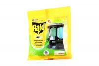 Засіб Raid Подушечки від молі Зелений чай 18шт*1,5г х6