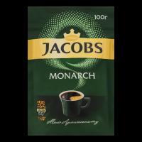 Кава Jacobs Monarch розчинна 100г х8