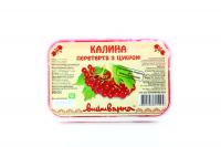 Калина Вишиванка протерта з цукром 250г х12