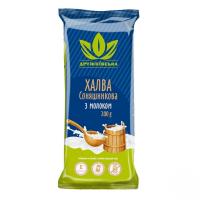 Халва Дружковская соняшникова з молоком 200г