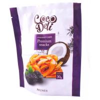 Чіпси Cocoвeli кокосові солодкі з чорносливом 30г х18
