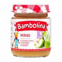 Пюре Bambolina яблуко 100г х12