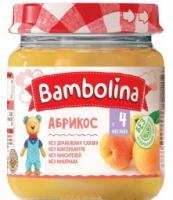 Пюре Bambolina абрикос 100г