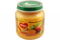Пюре Milupa дитяче Яблуко, манго, банан 125г