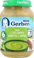 Суп-пюре Gerber зел.овочі-гречка с/б 190г