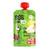 Пюре Bob Snail Фруктове яблуко-груша 90г
