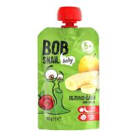 Пюре Bob Snail Фруктове яблуко-банан 90г
