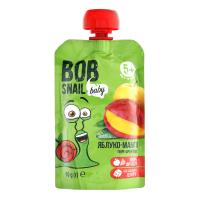 Пюре Bob Snail Фруктове яблуко-манго 90г