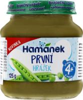 Пюре Hamanek з зеленого горошку 125г