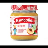 Пюре Bambolina персик 100г